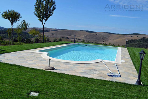 Piscine Esterne Interrate.Piscine Interrate Costi Cheminfaisant
